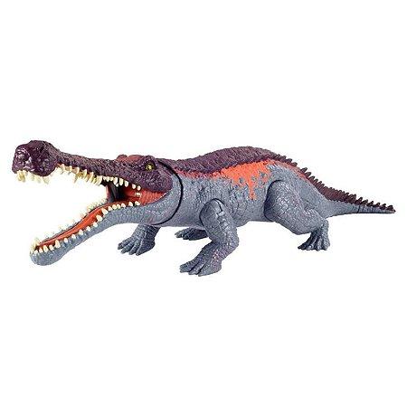 Dinossauro Sarcosuchus - Primal Attack - Jurassic World - Mattel