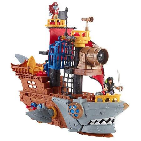 Imaginext Navio Pirata Tubarão - Fisher-Price