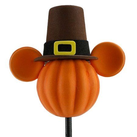 Enfeite para Antena Disney Mickey Abóbora de Chapéu