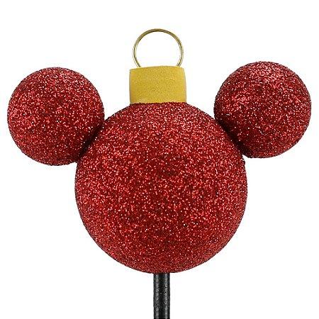 Enfeite para Antena Disney Mickey Bola Árvore de Natal