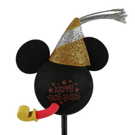 Enfeite para Antena Disney Mickey Feliz Ano Novo