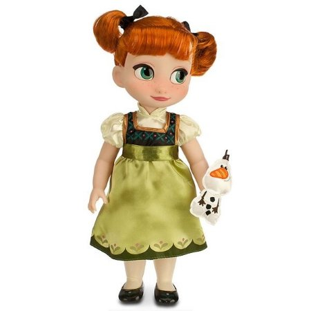 Boneca Princesa Anna Frozen Disney Animators