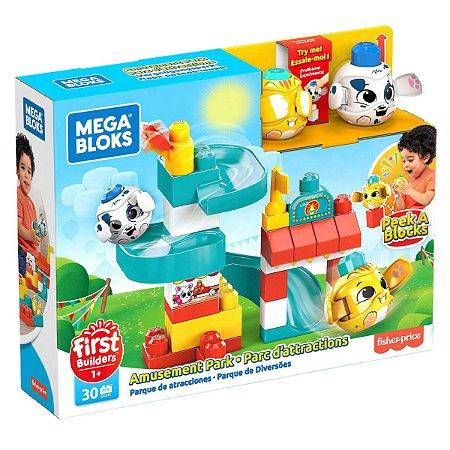 Mega Bloks Peek a Blocks - Parque de Diversões - Fisher-Price