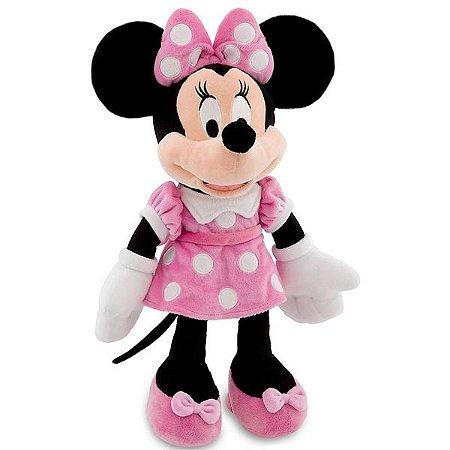 Minnie Rosa de Pelúcia Disney Média