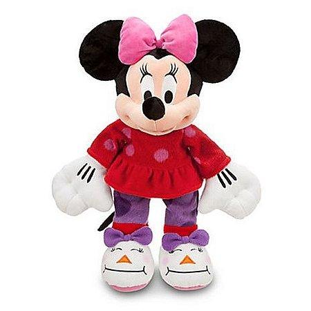 Pelúcia Minnie de Pijama Disney