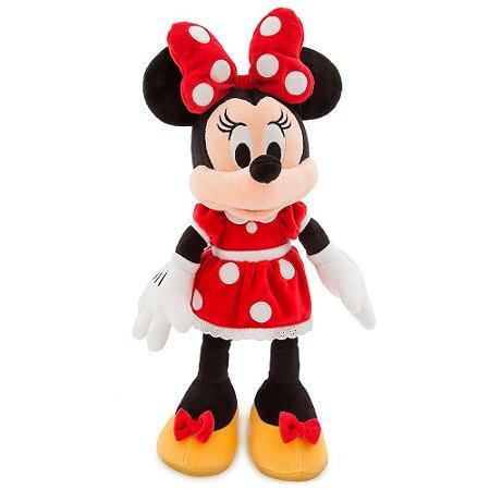 Pelúcia Minnie Vermelha Disney Média
