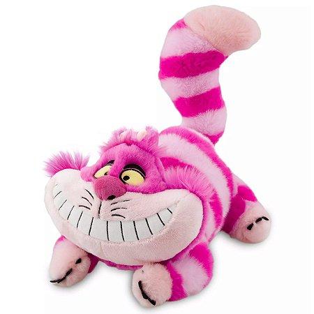 Pelúcia Gato Cheshire Disney Médio