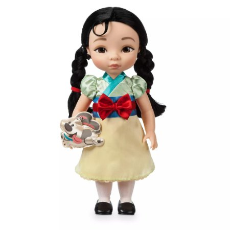 Boneca Princesa Mulan Disney Animators
