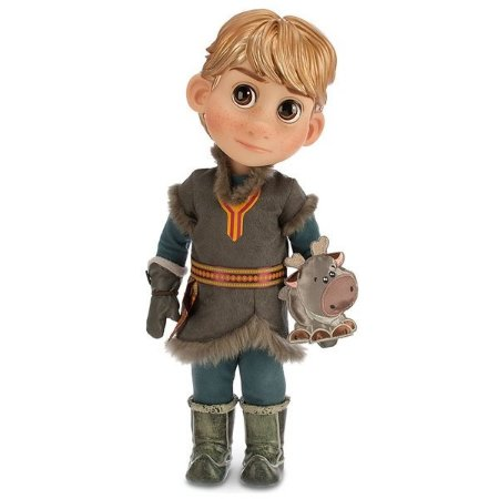 Boneco Kristoff Frozen Disney Animators