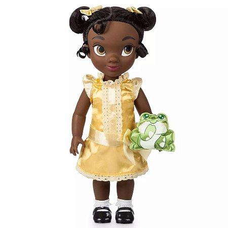 Boneca Princesa Tiana Disney Animators