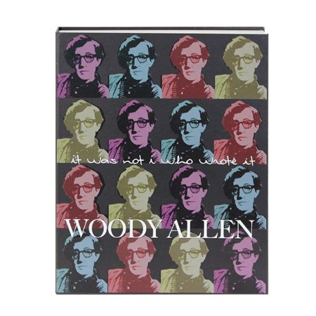 Livro decorativo Wood Allen