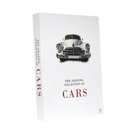 Livro decorativo Cars Collection