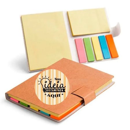 Blocos Post It Personalizado - 10 X 8 Cm