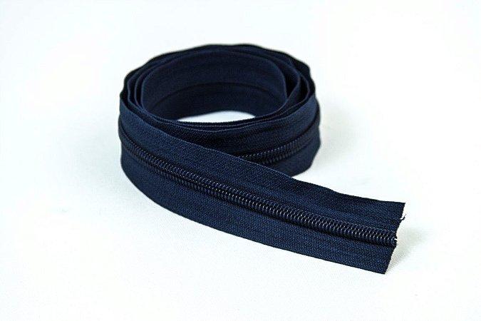 Zíper Grosso Azul Marinho 3cm Coats