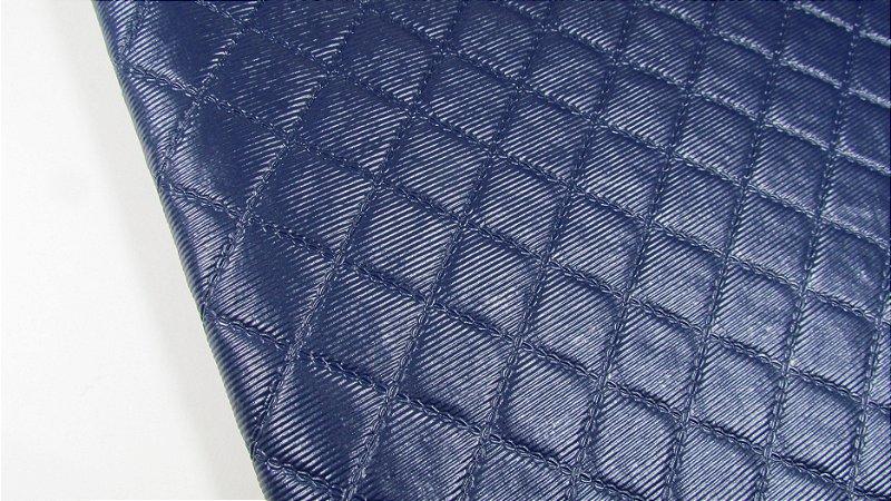PVC Matelassado Azul Marinho (0,50m x 1,40m)