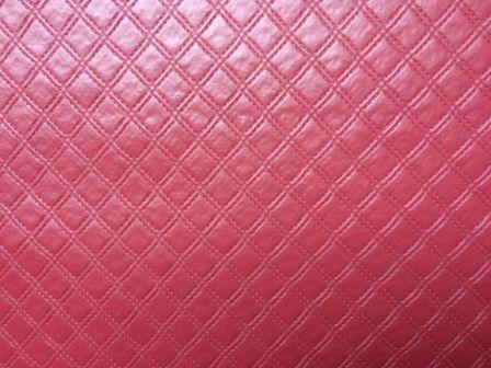 PVC Matelassado Chanel Vinho (0,50m x 1,40m)