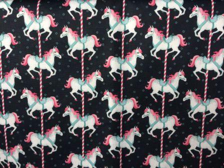 Tecido Digital Carrosel Unicornio (0,50m x 1,50m)