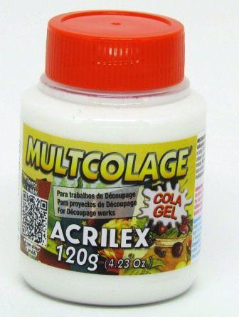 Cola Gel Multcolage 120g Acrilex