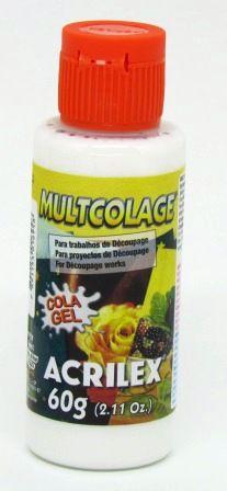 Cola Gel Multcolage 60g Acrilex
