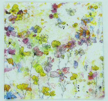 Guardanapo 33cm x 33cm Floral (2 unidades)