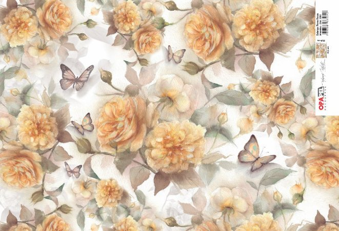 Opapel - Flores Rosas Amarelas (OPL2392)