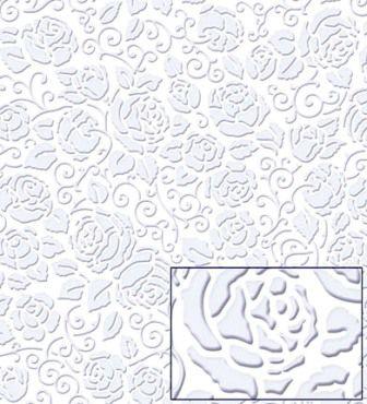 Papel Textura Rosas Vintage Arabescos Litoarte