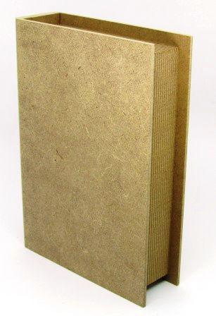 Caixa Livro Pequena em MDF