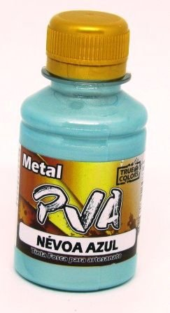 Tinta PVA Metal 100ml Névoa Azul True Colors