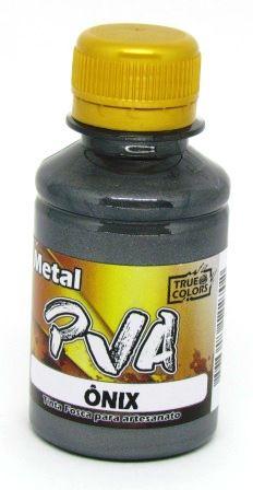 Tinta PVA Metal 100ml Onix True Colors