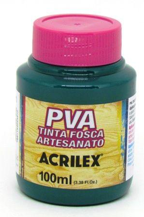 Tinta PVA Fosca 100ml Verde Bandeira Acrilex