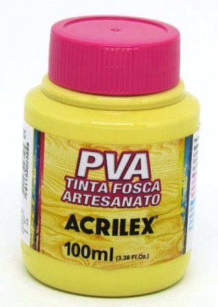 Tinta PVA Fosca 100ml Camurça Acrilex