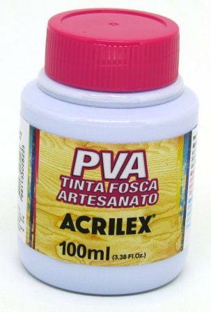 Tinta PVA Fosca 100ml Lavanda Acrilex