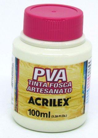 Tinta PVA Fosca 100ml Mineral Acrilex