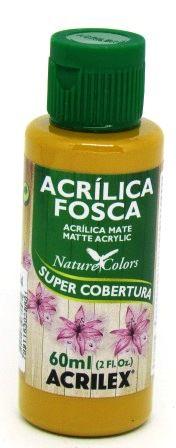 Tinta Acrilica Fosca 60ml Amarelo Ocre Acrilex