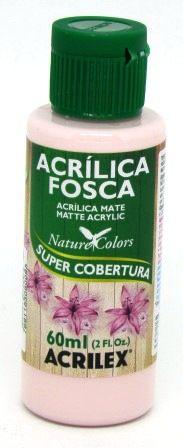 Tinta Acrilica Fosca 60ml Rosa Cotton Acrilex