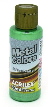 Tinta Metal Colors 60ml Verde Musgo Acrilex