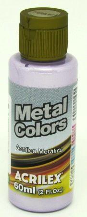 Tinta Metal Colors 60ml Lilás Acrilex