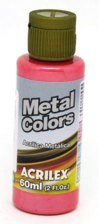Tinta Metal Colors 60ml Vermelho Acrilex