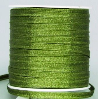 Fita Cetim 4mm Verde Musgo (10 metros)