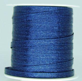 Fita Cetim 4mm Azul Marinho (1 metro)