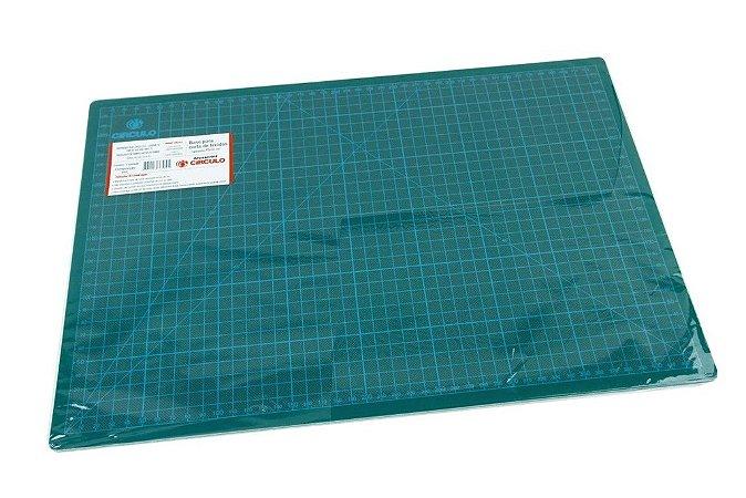 Base de Corte Verde 45cm x 30cm Círculo