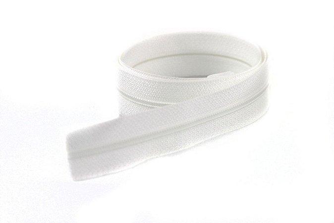 Zíper Fino Branco 2,5cm Coats