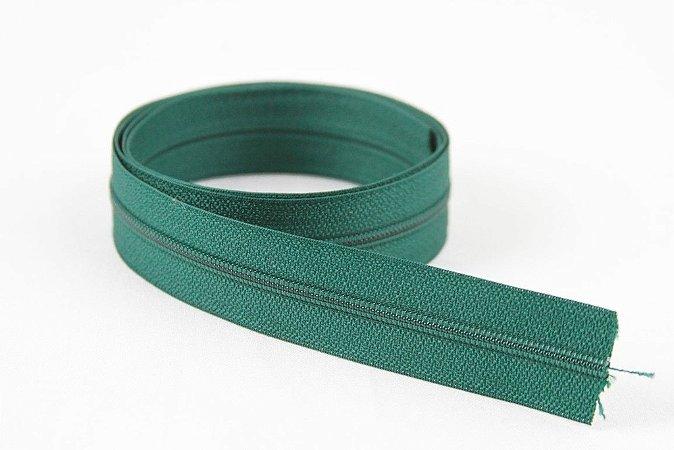 Zíper Fino Verde Escuro 2,5cm Coats