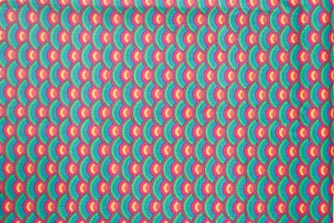 Tecido para Patchwork Estampa Digital Delur (0,50m x 1,40m)