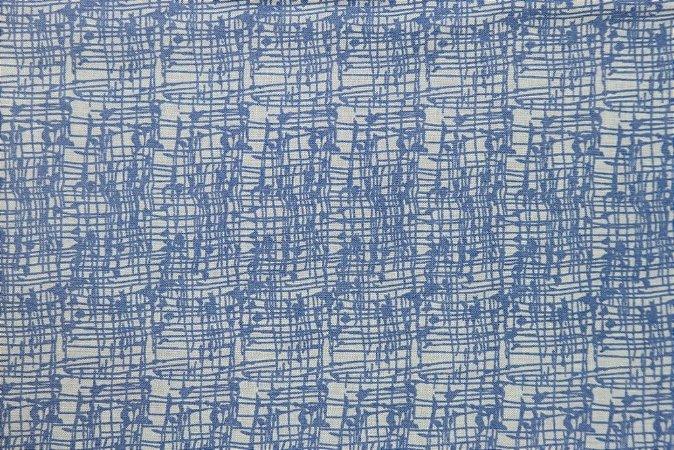 Tecido para Patchwork Textura Azul (0,50m x 1,50m)