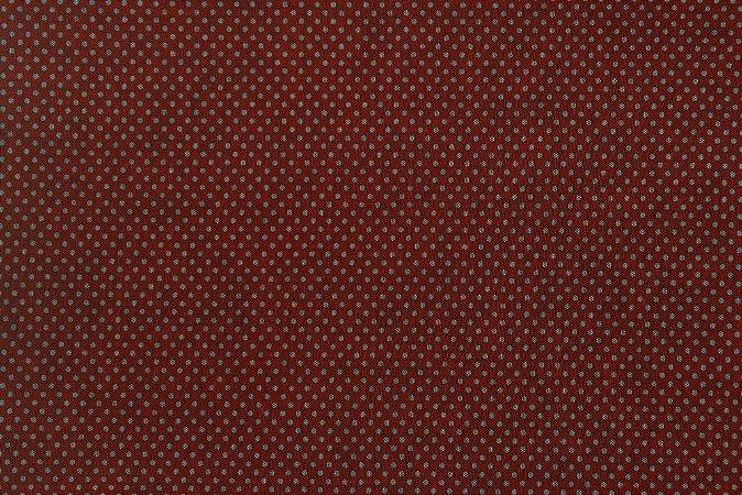 Tecido para Patchwork Chambray Blue Vermelho (0,50m x 1,50m)