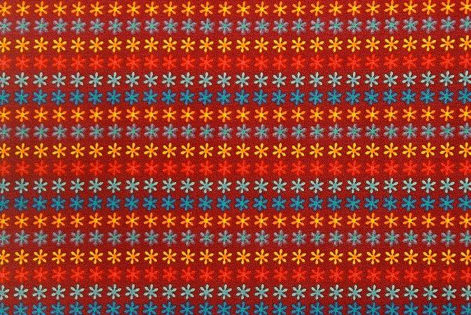 Tecido para Patchwork America Flis 2 (0,50m x 1,50m)