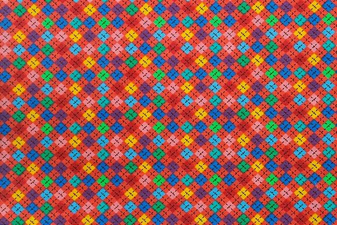 Tecido para Patchwork Chou Chivangi Rosa (0,50m x 1,50m)