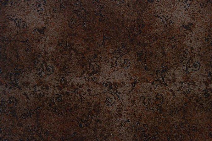 Tecido para Patchwork Arabesco Café (0,50m x 1,50m)