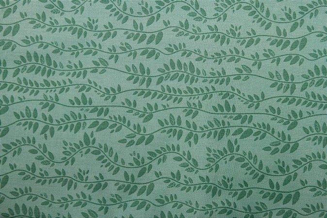 Tecido para Patchwork Raminhos Tiffany (0,50m x 1,50m)